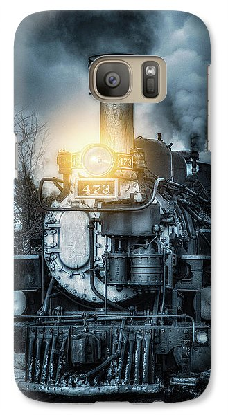 Galaxy Case featuring the photograph Polar Express by Darren White