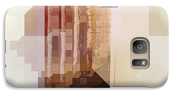 Galaxy Case featuring the photograph Polaroids Abstract 1 by Carol Leigh