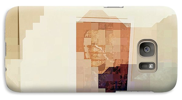 Galaxy Case featuring the photograph Polaroids Abstract 2 by Carol Leigh