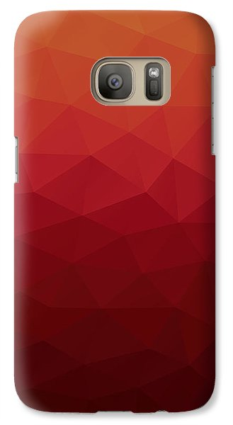 Galaxy Case featuring the digital art Polygon by Mike Taylor