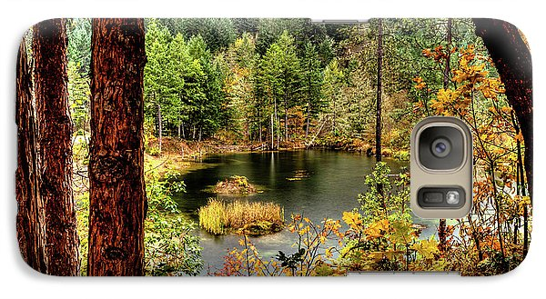 Pond At Golden Or. Galaxy S7 Case