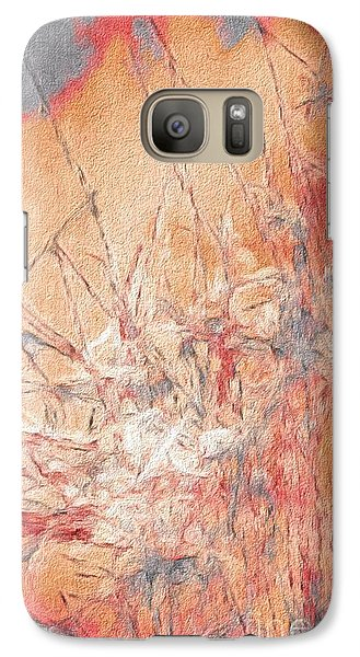 Galaxy Case featuring the photograph Pond In Fall by William Wyckoff