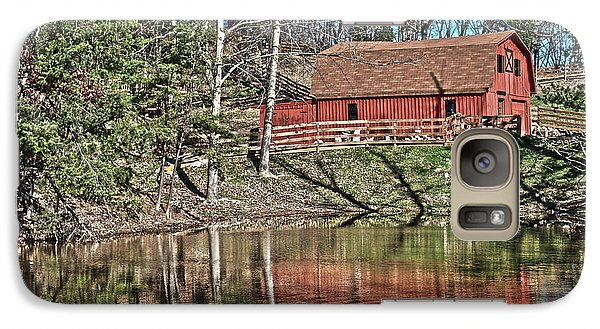 Galaxy Case featuring the photograph Pond Overlook by Greg Jackson