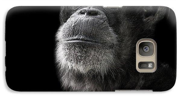 Ape Galaxy S7 Case - Ponder by Paul Neville