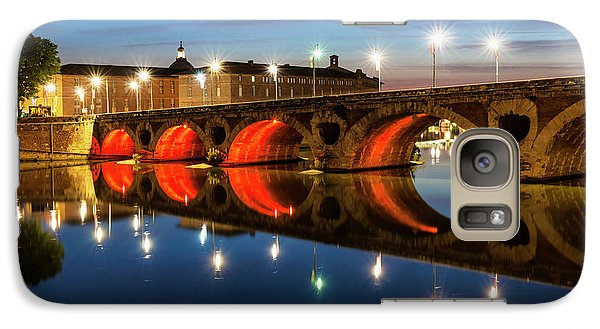 Galaxy Case featuring the photograph Pont Neuf In Toulouse by Elena Elisseeva