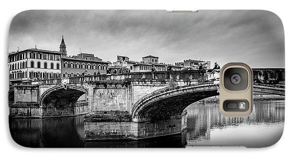 Galaxy Case featuring the photograph Ponte Santa Trinita by Sonny Marcyan
