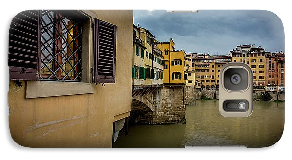 Galaxy Case featuring the photograph Ponte Vecchio by Sonny Marcyan