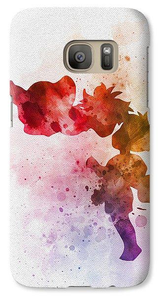 Ponyo Galaxy Case by Rebecca Jenkins