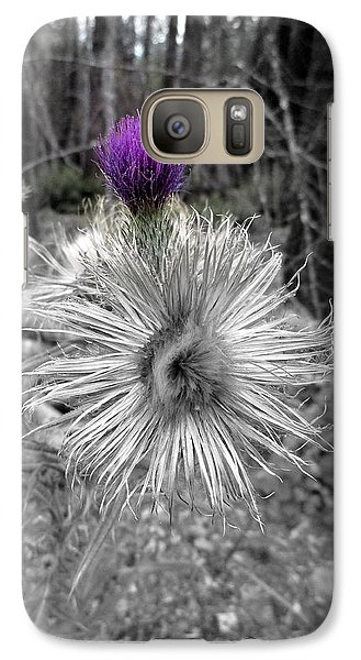 Galaxy Case featuring the photograph Poof by Marie Neder