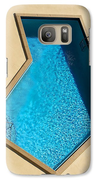Galaxy Case featuring the photograph Pool Modern by Laura Fasulo