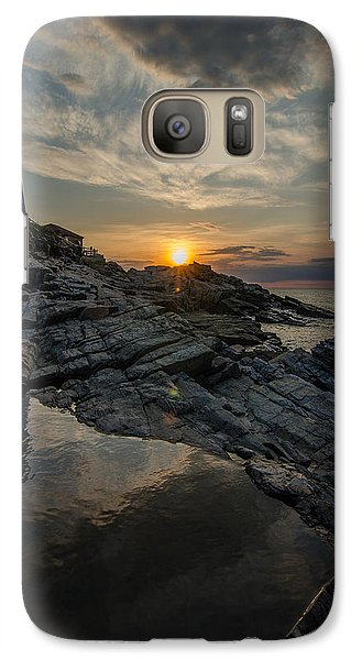 Galaxy Case featuring the photograph Pool Of Light by Paul Noble