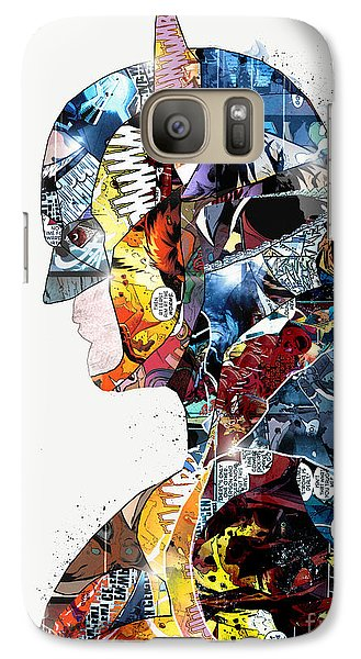 Galaxy Case featuring the painting Pop Art Batman by Bri B