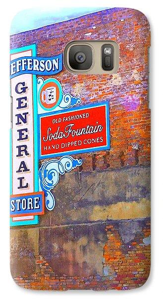 Galaxy Case featuring the photograph Pop Art General Store by Ellen O'Reilly
