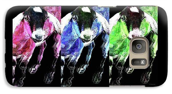 Pop Art Goats Trio - Sharon Cummings Galaxy S7 Case