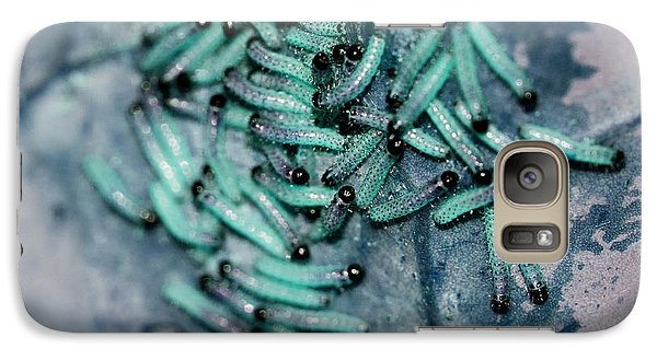 Galaxy Case featuring the photograph Pop Macro No. 1 by Laura Melis