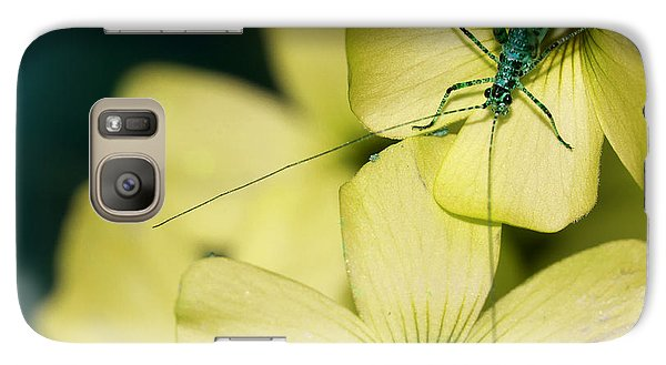 Galaxy Case featuring the photograph Pop Macro No. 2 by Laura Melis