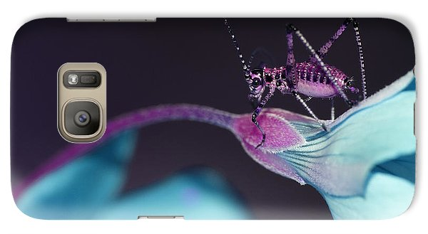 Galaxy Case featuring the photograph Pop Macro No. 3 by Laura Melis