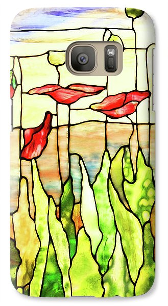 Galaxy Case featuring the photograph Poppies 1 by Kristin Elmquist