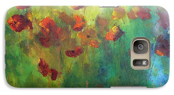 Poppies Galaxy S7 Case