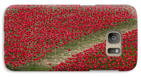 Poppies Of Remembrance Galaxy S7 Case