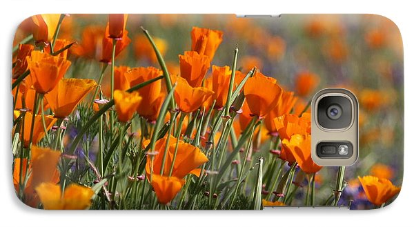 Galaxy Case featuring the photograph Poppies by Patrick Witz