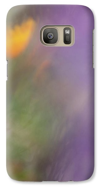 Galaxy Case featuring the photograph Poppy And Purple Lupine by Roger Mullenhour