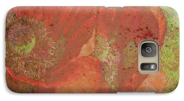 Galaxy Case featuring the photograph Poppy Love by Traci Cottingham