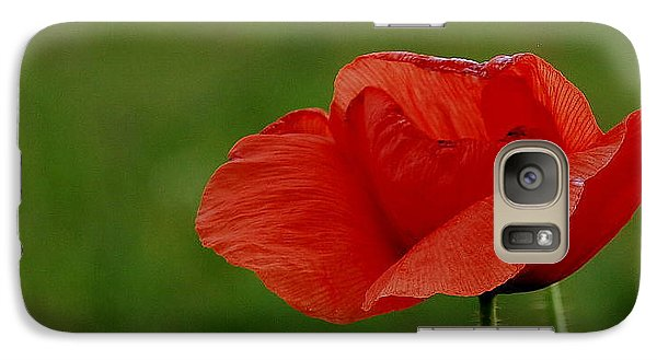 Galaxy Case featuring the photograph Poppy by Marija Djedovic