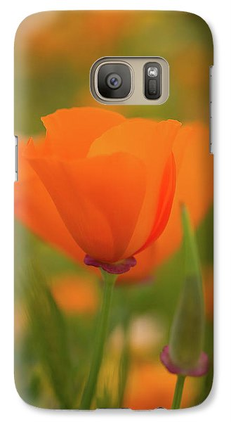 Galaxy Case featuring the photograph Poppy by Roger Mullenhour