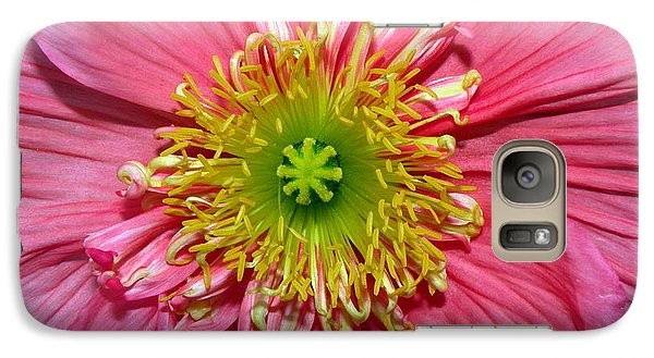 Galaxy Case featuring the photograph Poppy by Vivian Krug Cotton