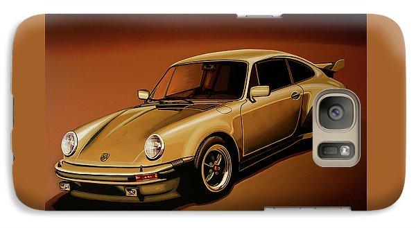 Beetle Galaxy S7 Case - Porsche 911 Turbo 1976 Painting by Paul Meijering