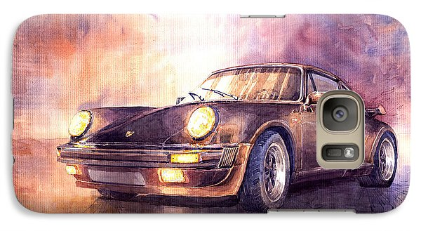 Transportation Galaxy S7 Case - Porsche 911 Turbo 1979 by Yuriy Shevchuk
