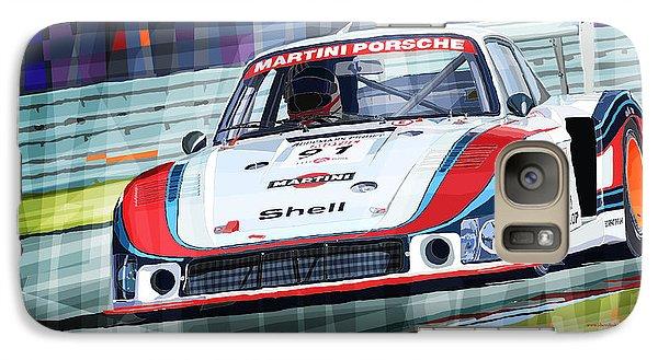 Porsche 935 Coupe Moby Dick Martini Racing Team Galaxy S7 Case