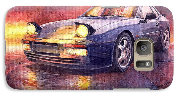 Transportation Galaxy S7 Case - Porsche 944 Turbo by Yuriy Shevchuk