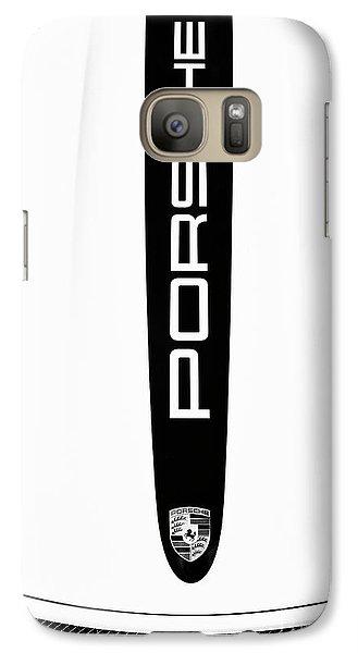 Porsche Monochrome  Galaxy S7 Case