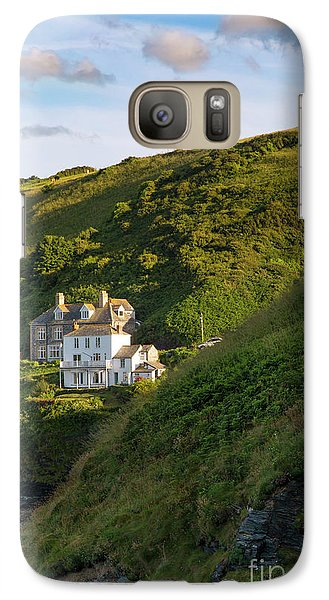 Galaxy Case featuring the photograph Port Isaac Homes by Brian Jannsen