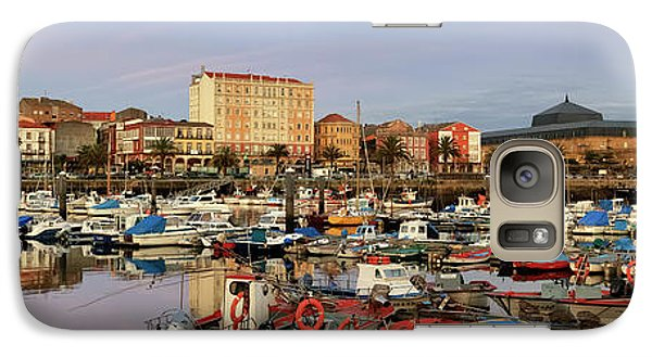 Galaxy Case featuring the photograph Port Of Ferrol Galicia Spain by Pablo Avanzini