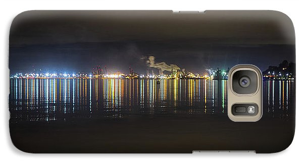Port Of Tacoma Lights Galaxy S7 Case