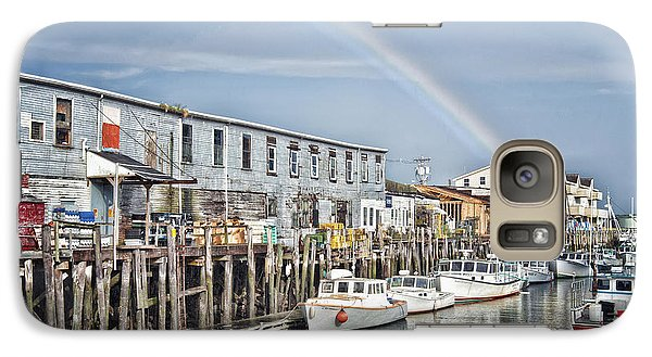 Galaxy Case featuring the photograph Port Rainbow by Richard Bean