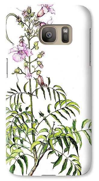 Galaxy Case featuring the painting Port St John's Creeper by Heidi Kriel