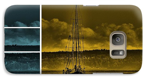 Galaxy Case featuring the photograph Port Townsend by Janice Spivey