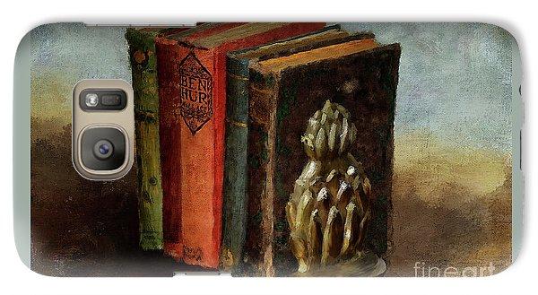 Galaxy Case featuring the digital art Portable Magic by Lois Bryan