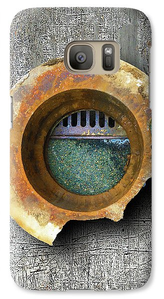 Galaxy Case featuring the mixed media Portal by Tony Rubino