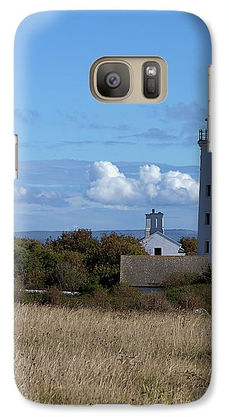 Galaxy Case featuring the photograph Portland Bird Observatory by Baggieoldboy