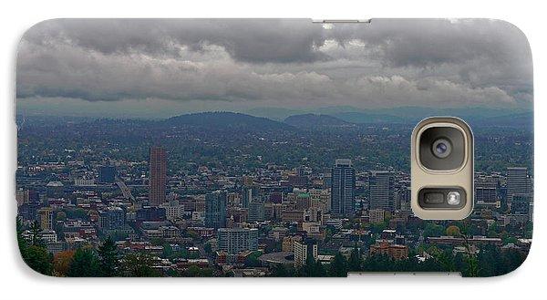 Galaxy Case featuring the photograph Portland Overlook by Jonathan Davison