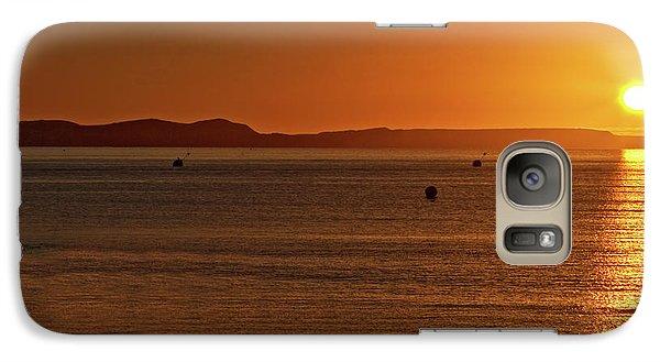 Galaxy Case featuring the photograph Portland Sunrise by Baggieoldboy