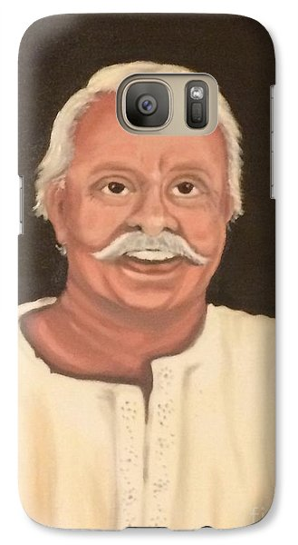Galaxy Case featuring the painting Portrait 2 by Brindha Naveen