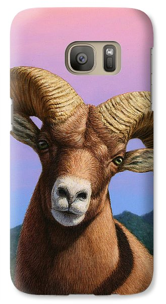 Portrait Of A Bighorn Galaxy S7 Case