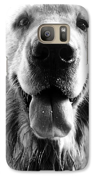 Portrait Of A Happy Dog Galaxy S7 Case