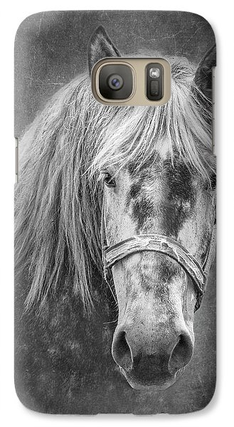 Galaxy Case featuring the photograph Portrait Of A Horse by Tom Mc Nemar